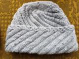Caciula lana unisex,culoarea gri inchis.