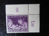 timbre deutsches reich -ZIUA MARCII-COMPLET-NESTAMPILAT