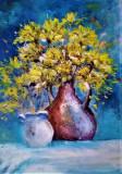 Flori de primavara, Ulei, Impresionism