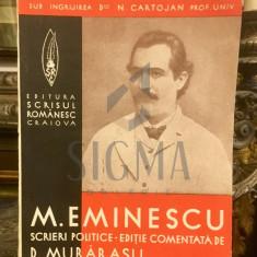 "CLASICI ROMANI COMENTATI ""MIHAI EMINESCU"" - MURARASU D."