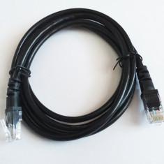Cablu internet, retea cablu UTP 1.5 m, Negru