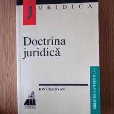 DOCTRINA JURIDICA- ION CRAIOVAN