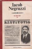 Scrieri, II - Iacob Negruzzi