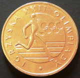 Moneda OLIMPICA 20 ZLOTI - POLONIA, anul 1980   *cod 1773 - EXCELENTA!