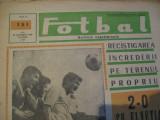 Revista Fotbal nr.131/28 mai 1968-Romania-Elvetia 2-0