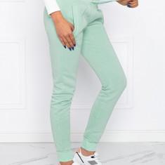 Pantaloni de trening femei PLR001 - verde