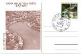 Croatia 1994, Zaton, Peisaj, CP
