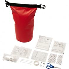 Trusa sanitara 30 piese, cu geanta rezistenta la apa, Everestus, 9IA19402, Tarpaulin, Rosu, saculet de calatorie inclus