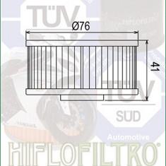 Filtru Ulei HF144 Hiflofiltro Yamaha 1L9-13440-91 1L9-13441-11 Cod Produs: MX_NEW HF144PE