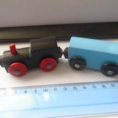 Bnk jc Trenulet de lemn pentru trasee