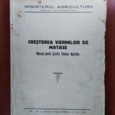 CREȘTEREA VIERMILOR DE MATASE
