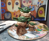 Figurine printate 3D, Baby yoda.
