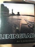 LENINGRAD. ART & ARCHITECTURE (ALBUM FORMAT MARE)-LEV USPENSKY SI COLAB.