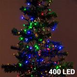 Lumini de Crăciun Multicolore (400 LED)