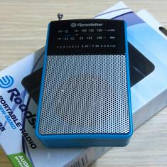 Radioreceptor de buzunar AM/FM Roadstar Blue