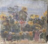 Tablouas vechi semnat S. Mutzner, Peisaje, Ulei, Impresionism