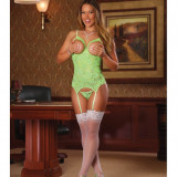 Cupless Merry Widow/ - Lime, - M