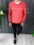 Pulover fashion barbati - corai - COLECTIE NOUA A6462