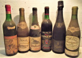 LOT, C - 6 STICLE VIN - RECOLTARE 1964/67/68/69/69/70