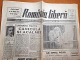 romania libera 12-13 august 1990-soarta precara a postului europa libera