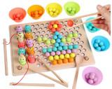 Joc de indemanare si asociere culori cu bile colorate.