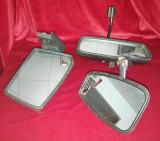 Lot 3 oglinzi auto laterale și retrovizoare Dacia 1300 1310 UAMT