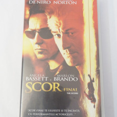 Caseta video VHS originala film tradus Ro - Scor Final