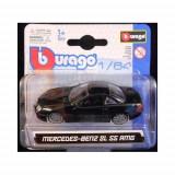 1:64 2003 MERCEDES-BENZ SL 55 AMG (W/BLINGZ RIM) - BLACK