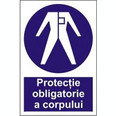 Indicator Protectie obligatorie a corpului(2) - Semn Protectia Muncii