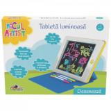 Tableta luminoasa pentru scris si desenat Micul Artist