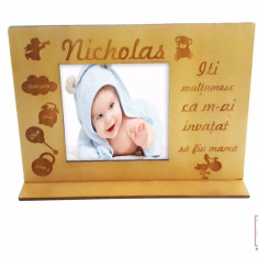 "Rama Foto Bebelusi Personalizata ""Nicholas"""