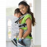Marsupiu Isara Toddler Full Wrap Conversion Diamonda Silver Gray
