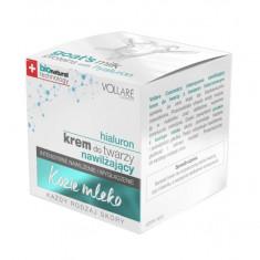 Crema cu Acid Hyaluronic si Proteine din Lapte de Capra VOLLARE Intensive BIO 50 ml