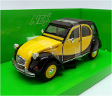 Macheta Citroen 2CV 6 Charleston - 1982 - WELLY 1:24