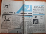 Ziarul azi 23 august 1990-art andrei serban se destainuie