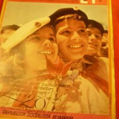 Revista Cutezatorii nr.24 - Omagial -12 iunie 1969 -20 Ani Org. PIONIERI RSR