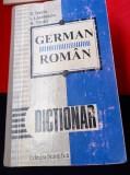 DICTIONAR GERMAN ROMAN DICTIONAR  ROMAN GERMAN