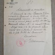 1931, Șc. primară fete Constanța, adev. permutare, dir. E. Mironescu, iudaica