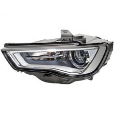 Far Audi A3 (8V), 06.2012- model cu 3 usi, SPORTBACK, partea Dreapta, electric, tip bec D3S+H8; bi-xenon cu LED lumini de zi, cu lumini pt curbe, fara
