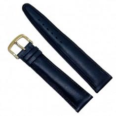Curea de ceas din piele naturala albastra - 20mm C2945