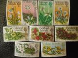 Serie timbre flora flori plante Falkland nestampilate timbre filatelice postale