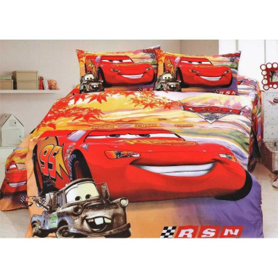 Cuvertura Copii Disney - Bumbac Satinat - Cars2 - PCC-10 foto