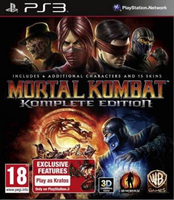 Mortal Kombat Komplete Edition PS3 foto
