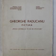 GHEORGHE RADUCANU - PICTURA , MAICA DOMNULUI IN 50 DE IPOSTAZE