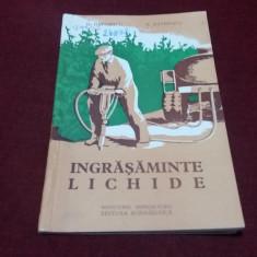 D DAVIDESCU - INGRASAMINTE LICHIDE