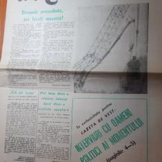 gazeta de vest 10 martie 1990-interviu petre roman si radu campeanu