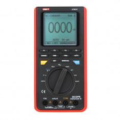 Multimetru digital functie osciloscop UT81C U, testare diode, continuitate, port USB