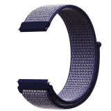 Curea material textil, compatibila cu Huawei Watch GT, Telescoape QR, 22mm, Savoy Blue