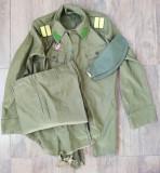4 uniforme militare de Vara RSR tinuta militara perioada comunista Războiul Rece