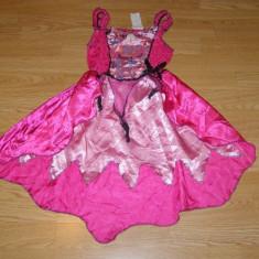Costum carnaval serbare fluture fluturas barbie pentru copii de 4-5-6 ani, 4-5 ani, Din imagine